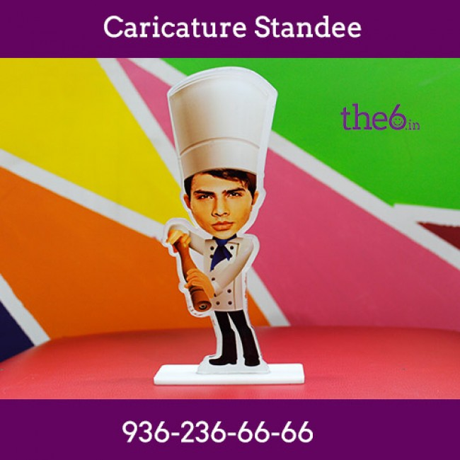 Caricature Standee