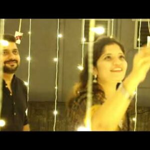 Terrace LED Decoration For Anniversary | Anniversary Decoration Ideas | Terrace Decoration Ideas